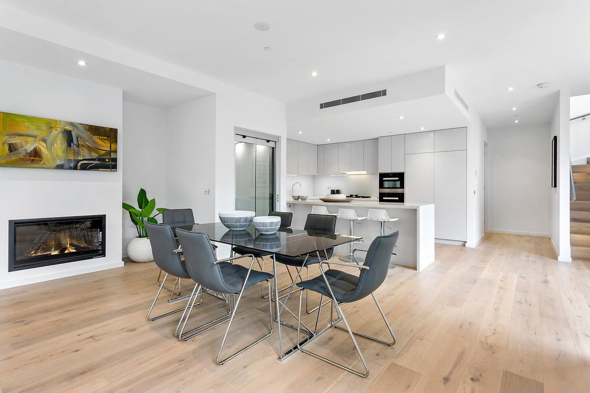 173 Power Street, Hawthorn (Kitchen Dining)
